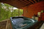 Hot Tub on the Lower Level