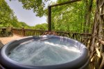 Hot Tub on the Main Level Open Porch