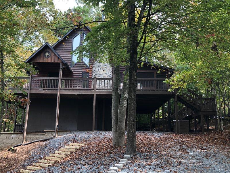 My Mountain Cabin Rentals On The Rocks Cabin Blue Ridge Ga