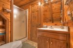 Master Bathroom with a Walk-In Shower Stall
