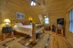 Loft Master Suite with a King Bed