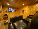 Hot tub on a open deck