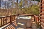 Hot Tub on the Main Floor Deck