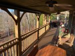 Large Open Deck with a Gas Grill, 4- Person Hot Tub, a Gas Fire-Pit and the Fenced in Yard.