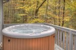 Hot tub On the Open Porch
