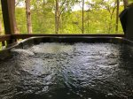 Hot Tub on the Main Level Porch