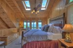 Private Screen Porch on the loft master suite