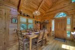 Open Loft Master Bedroom with a King Bed and a Private Screen Porch