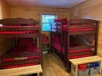 Kids Game Room Area: 2 sets of Bunk Beds that are Twins