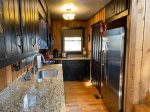 Kitchen with Stainless Steel Appliances with Granite Counter Tops
