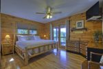 Loft Master Bedroom with a King Bed