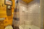 Master Bathrooms Large Tile Shower
