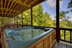 Hot Tub off the Lower Level