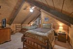 Two Twin Beds in the open loft