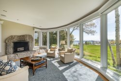 Spectacular Oceanfront 5 Bedroom 4.5 Bath Furnished Estate Home in Desirable Falmouth Foreside