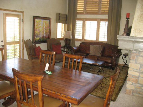 Main Level Dining and living rooms