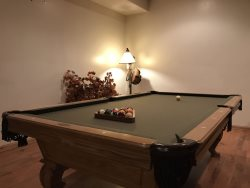 Downstairs - Pool Table