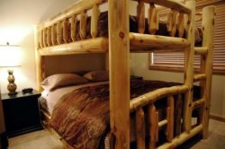 Queen over queen bunk bed
