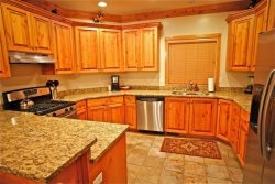 Main floor - Kitchen with granite countertops