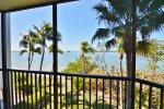 Lanai with Balcony View