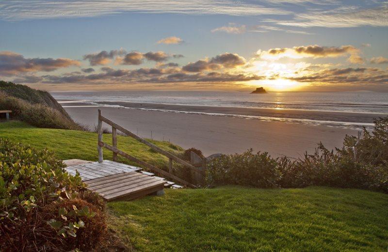 Arch Cape Beach Sunset