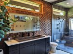 Beautiful Master Bathroom w/ Double Vanity and Walk-In Shower