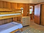 Bedroom w/ Bunk Bed and Twin Bed