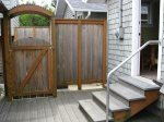 Side Gate entrance/exit from deck area