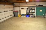 Garage with Ping Pong Table