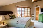 Master queen bedroom with master bedroom