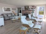 Incredible, oceanfront views from the expansive windows