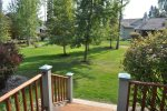 MH153 View from the Rear deck and master bedroom balcony overlooking the common area