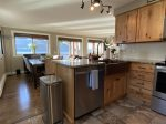 Recently updated kitchen with new appliances and granite counter tops
