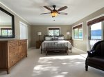 Master King Bedroom has amazing Lake Views