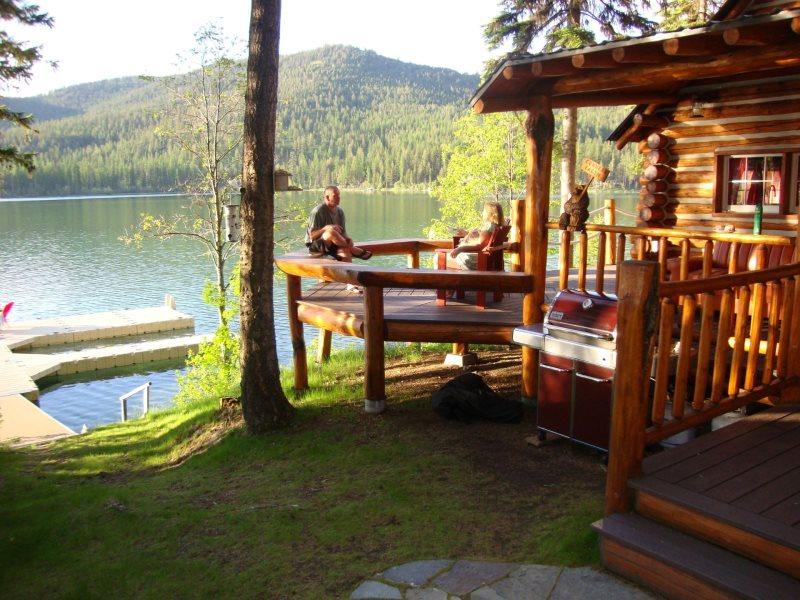 Adorable 1 Bedroom Log Cabin On Ashley Lake Private Boat