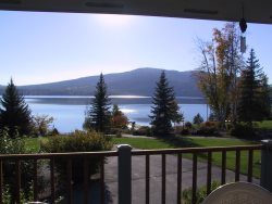 Lakefront Mountain Harbor Condo with Whitefish Lake Views & Rentable Boat Slip