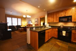 2 bed/2 bath Ski-In/Ski-Out Condo in Morning Eagle Lodge at Whitefish Mountain Resort