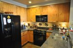 Fully Equipped Kitchen with Modern Touches
