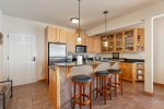 Nicely Updated Kitchen with Granite Counter Tops