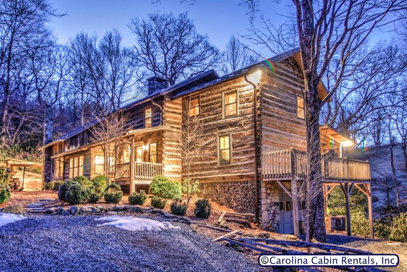 Rustic   Unique  Expansive 5BR 4BA Cabin on Private  Wooded Acreage Only  Minutes. Cabin Rentals   Boone  NC   Book Online