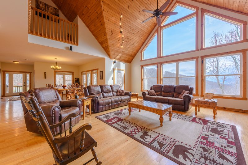 6BR Mountain Home, Central Location In Boone, NC, Pool Table, Foosball Table,  Ping Pong Table, Shuffleboard, Theatre W/ NFL Package, Hot Tub, Log U0026  Leather ...