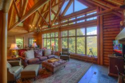 5br Elegant Cabin In Valle Crucis Area Of Boone Views Hot Tub Sauna