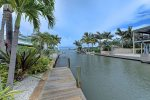 Bring a boat or rent one and enjoy this great dock.