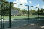 One of 5 tennis courts