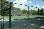 One of 5 onsite tennis courts