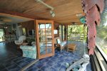 Screened porch off livingroom and bedrooms