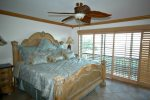 Master bedroom, king bed and ensuite