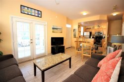 Cute and Cozy Venetian Bay Vacation Rental Townhome Just 6 Miles to Disney