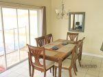 dining for six and fully equipped kitchen