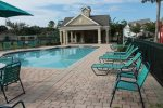 3 smaller unheated pools